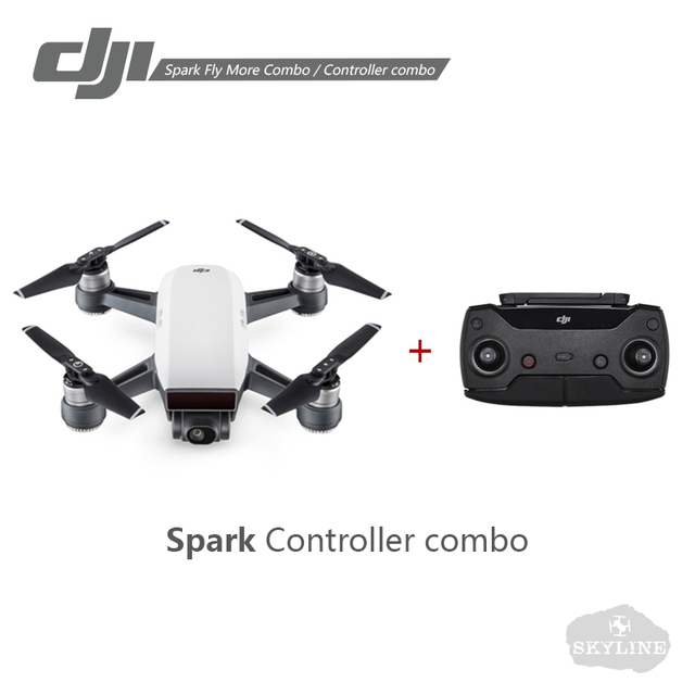 DJI Spark Controller Combo / Fly More Combo Drone 1080P HD Video Recording 12MP Camera Drones Remote or Phone APP Controller