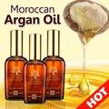 3*100 ml de Aceite de Argán Marroquí Arganmidas Pelo y Cuero Cabelludo Tratamiento para Cabello Seco y Dañado Hacer Que Tu Cabello suave/Brillo
