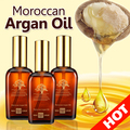 Arganmidas 3*100ml Moroccan Argan Oil Hair & Scalp Treatment for Dry and Damaged Hair Make Your Hair Soft/Shine