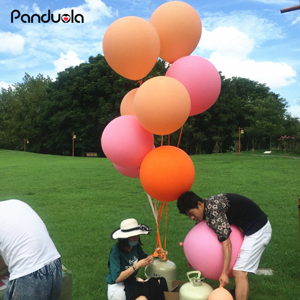 decoration birthday  Big Large Balloon Wedding Decoration Birthday Party Ballons 18 inch Thickening Latex giant huge balloons