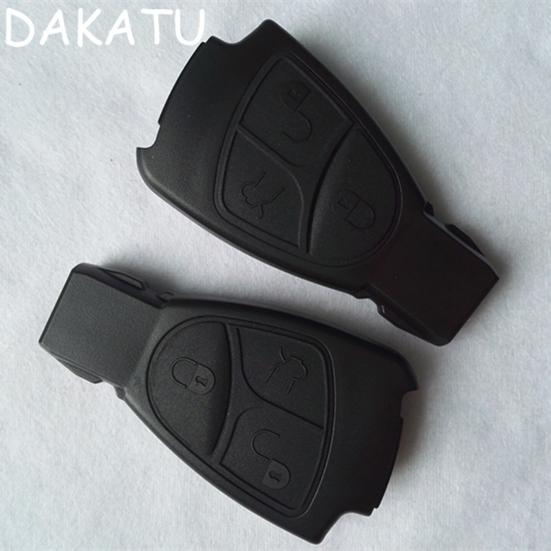 DAKATU 3 Buttons Car <font><b>Key</b></font> Case For <font><b>Mercedes</b></font> Benz C B E Class <font><b>W203</b></font> W211 W204 YU BN CLS CLK Replacement Smart Remote <font><b>Key</b></font> Shell image