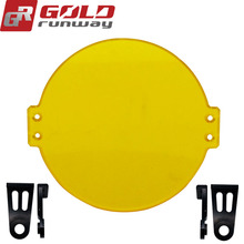 2pcs Yellow  driving beam lenses for GR-50X 50W
