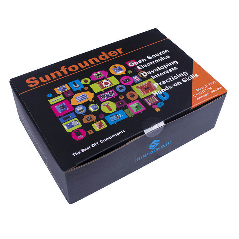 Image 5 - SunFounder Super Starter Learning Kit V3.0 for Raspberry Pi 3 Model B+ 3B, 2B B+ A+ Zero and 123 Page Instructions Book-in Demo Board from Computer & Office
