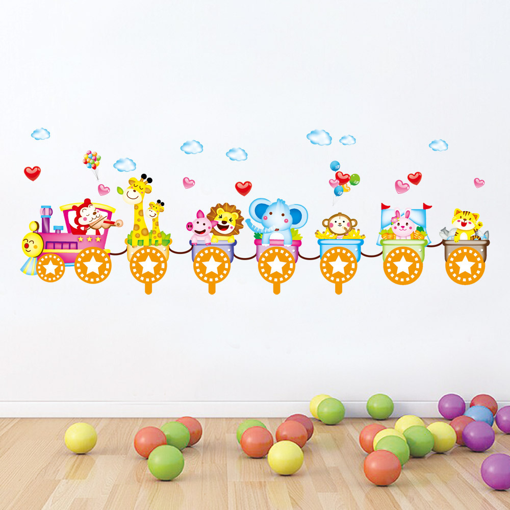 3d train animation promotion shop for promotional 3d train for Stickers infantiles