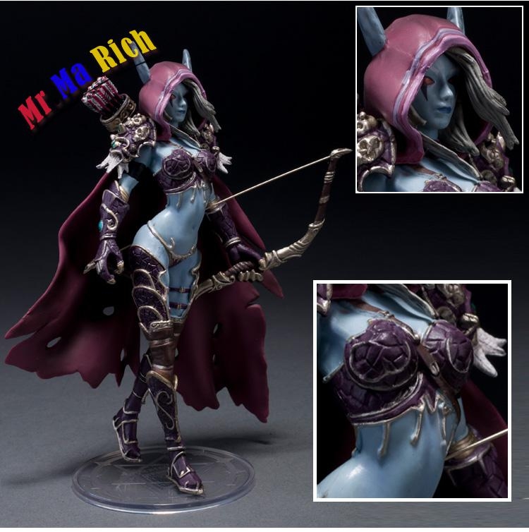 Wow Darkness Ranger Lady Sylvanas Windrunner 7 Pvc Action Figure Collection Model Toy what darkness brings