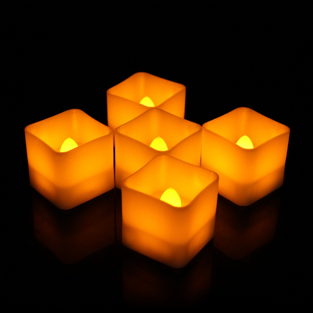 5009005563_1650456754  12pcs Flickering LED Candles Sq. Pillar Faux Candle Electrical Tealight for Residence Decor Wedding ceremony Events HTB1NVjYB4GYBuNjy0Fnq6x5lpXaD