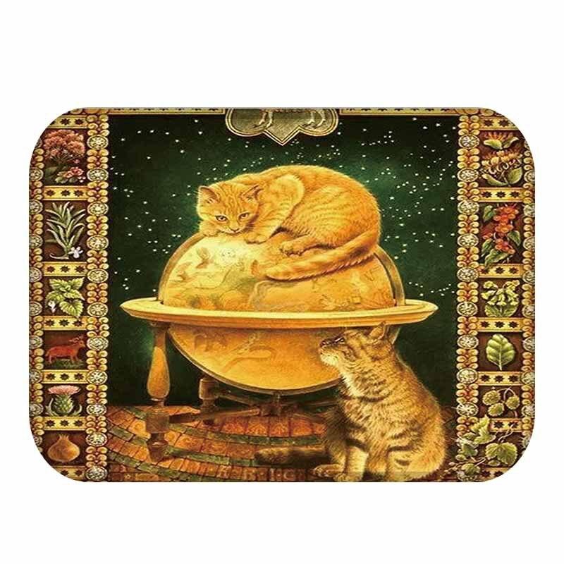 40x60cm new cartoon style lovely cat anti slip floor mat outdoor40x60cm new cartoon style lovely cat anti slip floor mat outdoor rugs animal front door mats kitchen mat for living room