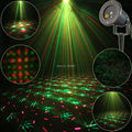 Outdoor Waterproof 2 Patterns R&G Snow Laser Projector Landscape Holiday Christmas Club Party Tree Garden Xmas Stage Light T39