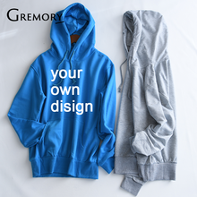 2019 Your OWN Design Brand Logo Picture White Custom Men and women  Sweatshirt Plus Size 697326f41a