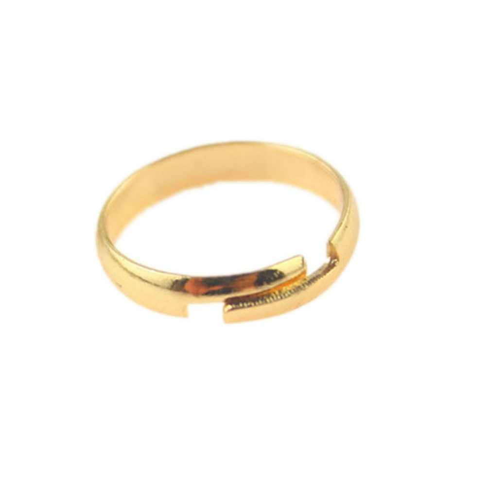 1 pcs New Arrival Fashion Smooth Foot Ring Color Gold/ Silver Standard Inner Diameter 1.4cm