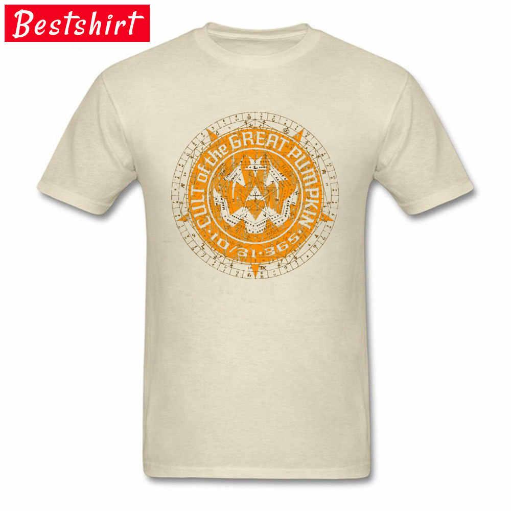 Cult of ฟักทองที่ดี Alchemy พิมพ์ T เสื้อฤดูร้อน/ฤดูใบไม้ร่วงลูกเรือคอ 100% ฝ้ายเด็กเสื้อยืดปกติ Tee -เสื้อสำหรับชาย