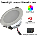 ZigBee RGBW Downlight Spotlight Compatible With Hue Bridge 1.0 and 2.0 Remote Control by Hue App 7w Latest Arrival