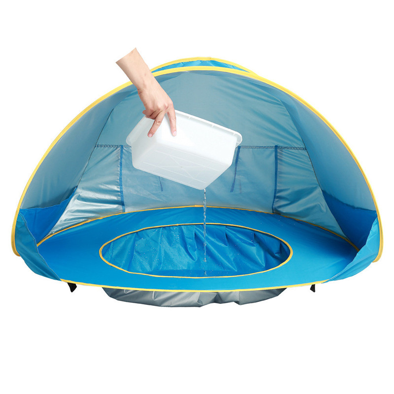 Kids Baby Games Beach Tent Portable Build Outdoor Sun Child Swimming Pool Play House Tent Toys For Baby Boy Girl KidsKids Baby Games Beach Tent Portable Build Outdoor Sun Child Swimming Pool Play House Tent Toys For Baby Boy Girl Kids