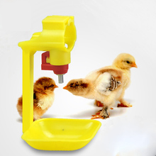 10pcs Chicken Drinking Fountain Hanging Cup Ball Nipple Drinkers Chicken Quail 25mm Pipe Automatic Nipple Waterer недорого