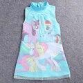 LZH 2017 Año Nuevo Princesa de Las Muchachas Vestido de Cheongsam Chino Vestido De Las Niñas Vestido de Fiesta Trajes de Las Niñas Para Niños Ropa de Los Niños
