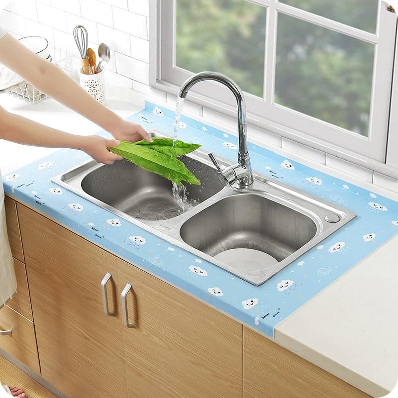 50x12cm Self Adhesive Kitchen Sink Waterproof Stickers