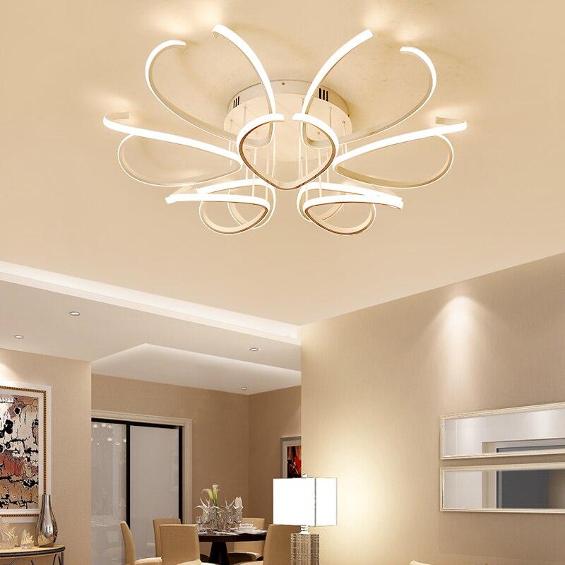 New Modern Design Led Ceiling Lights For Room Study Bedroom lampe plafond avize Indoor Ceiling Lamp Fixtures AC85-265V