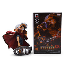 14 cm Anime One Piece The Top War Monkey D. Luffy PVC Action Figure Doll Collectible Model Baby Toy Christmas Gift For Children цены онлайн
