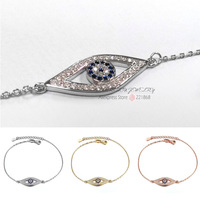 10 Pieces Wholesale White Rose 18K Gold Blue Crystals Full CZ Paved Solid 925 Sterling Silver