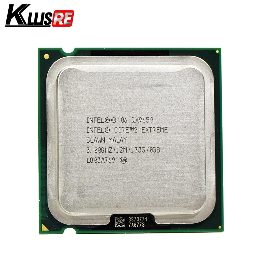 Intel Core 2 Extreme QX9650 3 0GHz 12M 1333FSB SLAN3 SLAWN LGA775 CPU Processor
