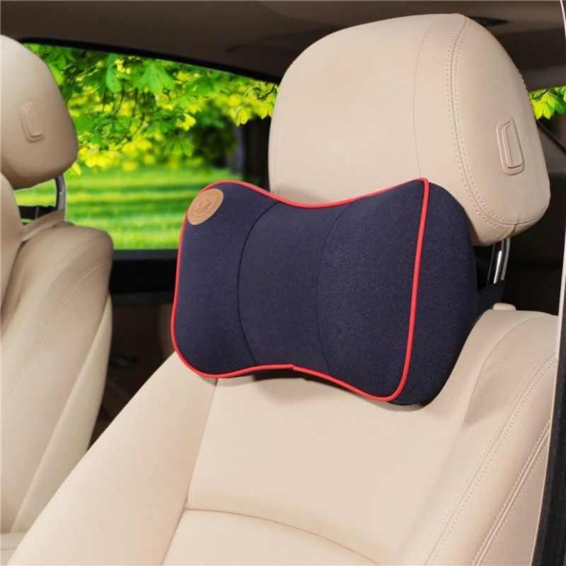 Mobil Memori Busa Mobil Leher Bantal Nyaman Bantal Kursi Mobil Headrest Nyaman Leher Bantal untuk BMW untuk Audi RJ