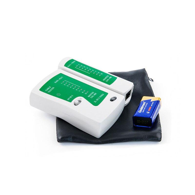 8pcs/set RJ45 RJ11 RJ12 CAT5 CAT5e Portable LAN Network Repair Tool Kit Utp network cable tester Plier Crimper Plug Clamp 4