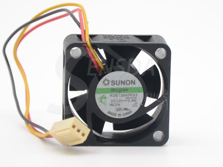 2pcs For Sunon KDE1204PKV3 4020 40X40X20 DC 12V 0.40W Server Inverter Cooling Fan 2pcs/lot