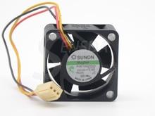 2 шт. Sunon KDE1204PKV3 4020 40X40X20 DC 12 В 0,40 Вт сервер инвертор Вентилятор охлаждения 2 шт./партия