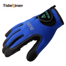 Tideliner High Quality Men Winter Fly carp spinning feeder Fishing Gloves gloves Luva Pesca Guantes Outdoor Photography Gloves