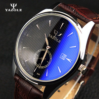 YAZOLE Watch Men 2016 Mens Watches Top Brand Luxury Luminous Pointer Male Clock Wrist Watches Relogio