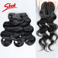 Sleek Malaysian Body Wave Virgin Hair 113g/pc Human Hair Aliexpress uk Malaysian Virgin Hair with Closure