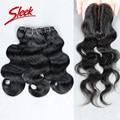 Sleek Malaysian Body Wave Virgin Hair 113g/pc Human Hair Aliexpress uk Malaysian Virgin Hair with Closure
