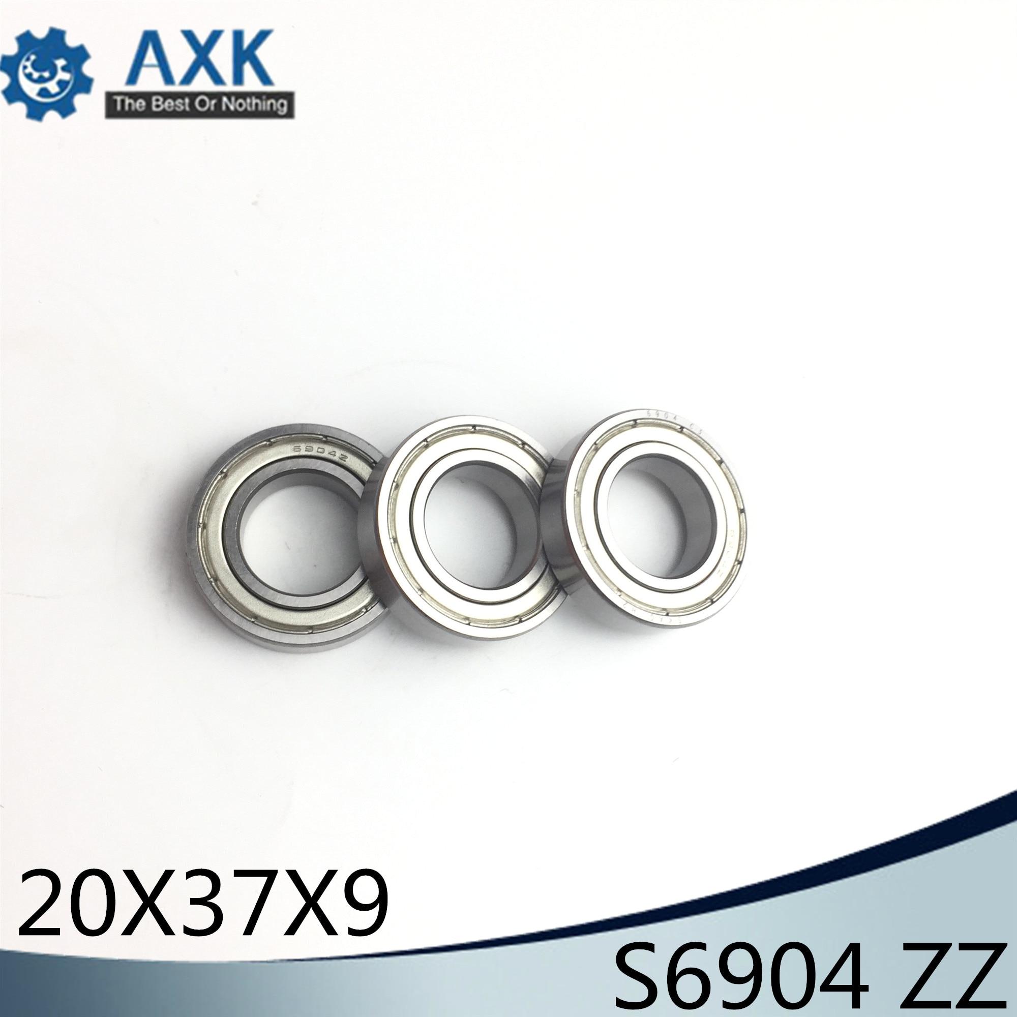 6200 Series rodamientos de bolas de acero al carbono blindados de metal con ranura profunda 2