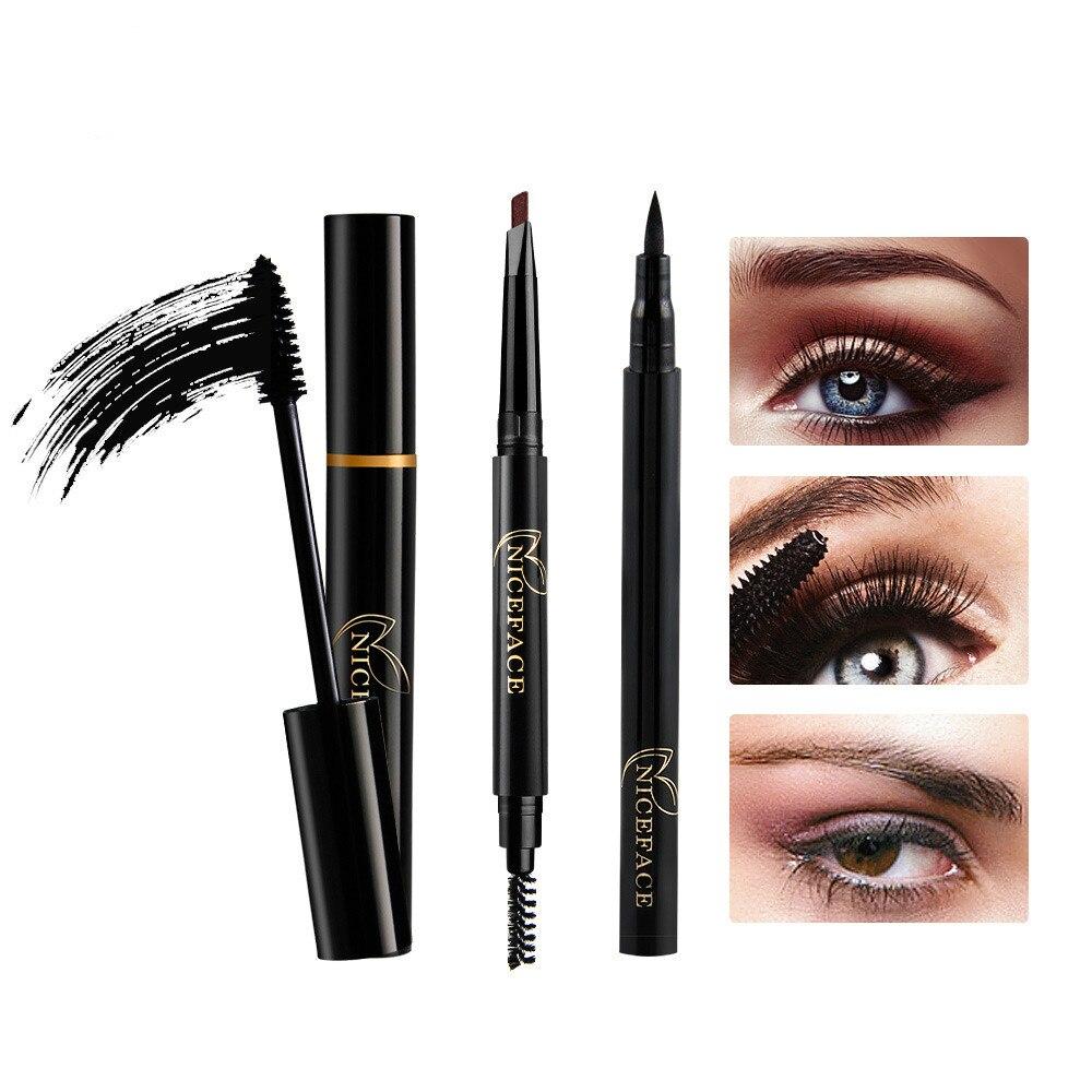 Makeup Eye Makeup Combination Eye Liner + Mascara ...