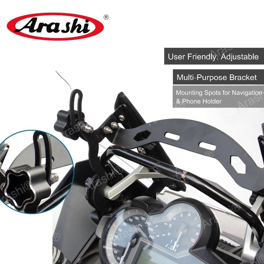 Arashi R1200GS LC Adventure 2014 2018 Windscreen Bracket Mount For BMW Adjustable Windscreen Holder Hard Steel