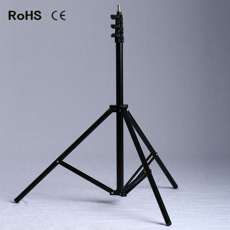 0.68m/2.34m Air Cushioned Light Stand With Included Adaptor To Support 1/4 Photo Equipment