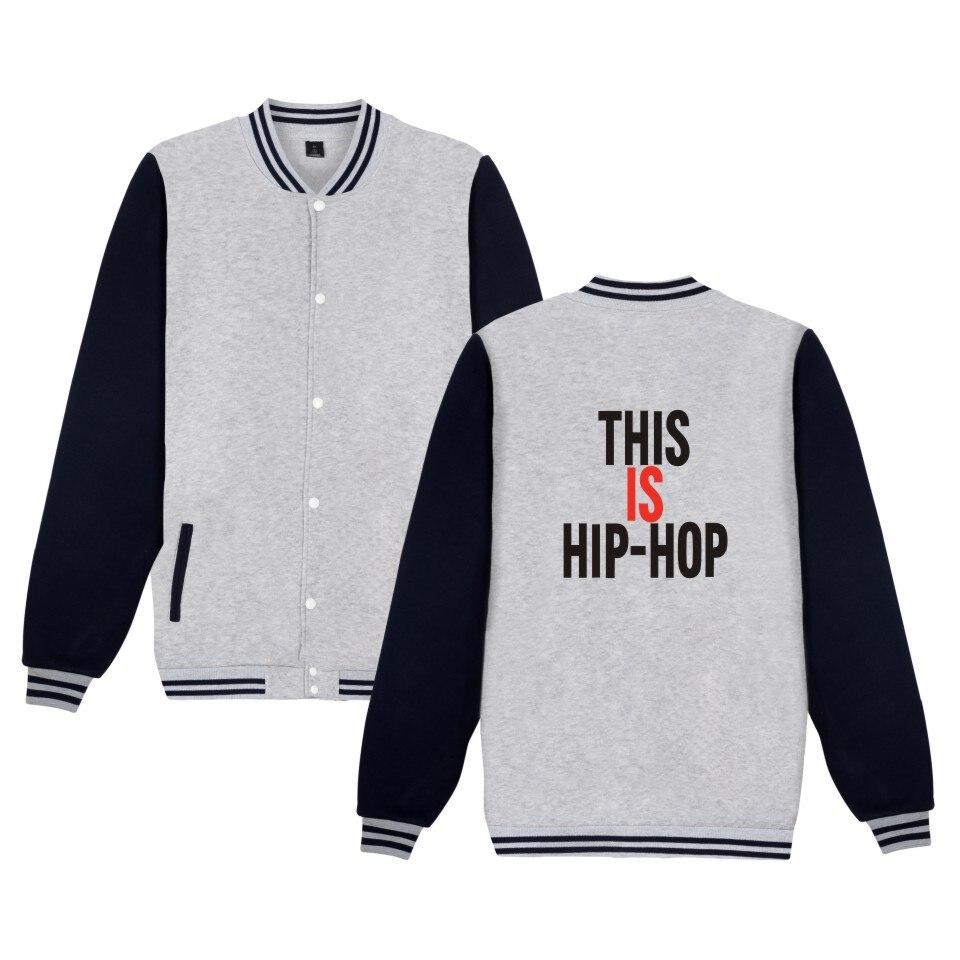 Hip hop Rapper Wiz Khalifa New Baseball Jacket This is Hip Hop sweatshirts hoodies Uniform For women/men plus size clothes 4XL