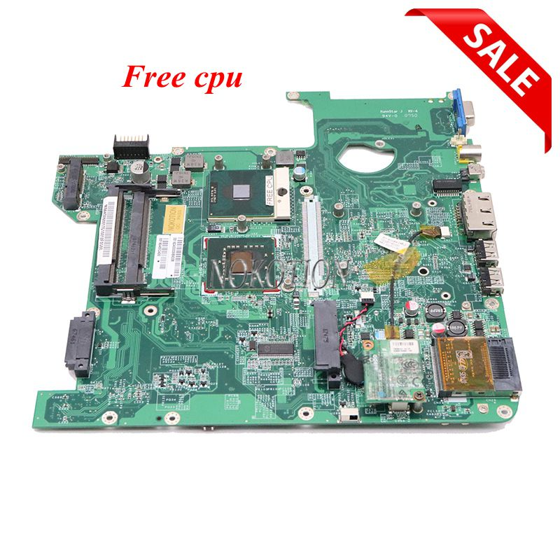 NOKOTION MBAKD06001 MB.AKD06.001 For Acer Aspire 4720 4720Z Laptop Motherboard DA0Z01MB6E0 REV E GL960 DDR2 Free Cpu