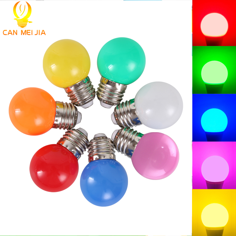 New Led E27 Christmas E27 Led Bulb 3W Energy Saving Bulb White Red Blue Green Yellow Orange Pink Lampada Led for Home Lighting smart bulb e27 7w led bulb energy saving lamp color changeable smart bulb led lighting for iphone android home bedroom lighitng