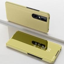 Зеркало Flip смарт крышка для VIVO V15 S1 Y83 Pro Роскошные полное покрытие на VIVO V7 плюс V9 Y75 Y79 X20 X21 X20P Y85 Y91 Y95 Y83 Pro