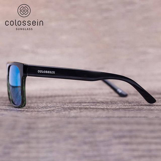 COLOSSEIN Classic Sunglasses Fashion Formal Sunglasses Women Pilot Black Frame UV400 Glasses Female Fishing Driving Eyewear 3