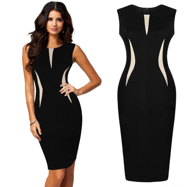 2016 Fashion Appearance Women Dress Celebrity Elegant Sexy Ladies