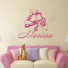 Wall Sticker Girls Room Decoration Personalized Name Nursery Poster Art Removeable Vinyl Home Decor Beauty Ornament LY716 цена и фото
