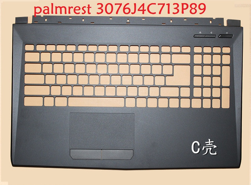 Laptop Palmrest for MSI GP62 6QG GP62M GL62 6QF GL62M 3076J4C713P89 E2P-6J4C713-P89 3076J5C614P89 307-6J1C261-Y31 3076J4D231Y311 laptop palmrest for msi gt73 gt73vr black 3077a1a211y311 3077a1a221y311 e2p 7a114xx y31 3077a1c211y31 e2p 7a105xx y31 upper case