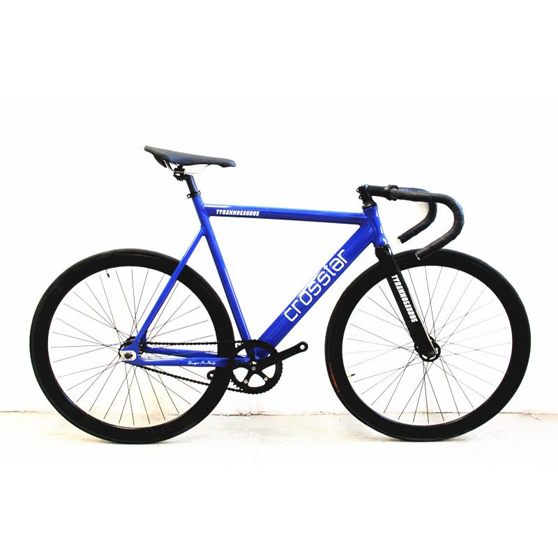 Fixed Gear Bike Urban Track Bike Fixie Carbon Fiber Fork Commute Bike 40mm rim road bike T2 fixie bicycle image
