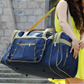 2016 new arrival Fashion canvas waterproof luggage handbag women travel duffles bags women men large capacity special designer