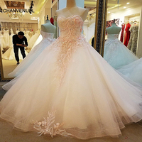 LS30547 Engagement Dresses Lace Up Back Ball Gown Lace Long Pink Long Dresses For Wedding Party