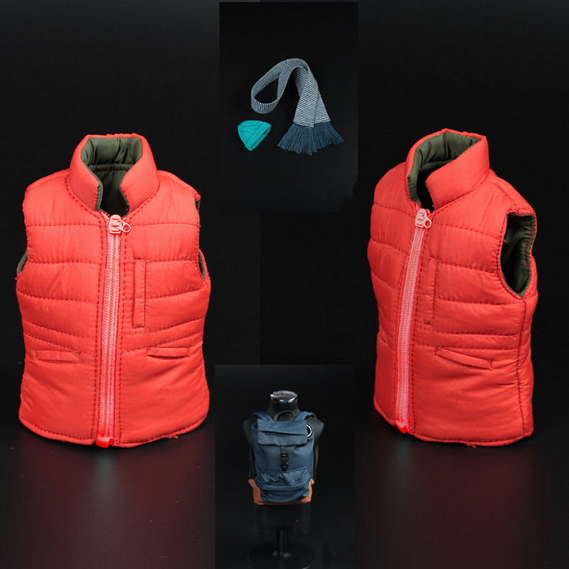 1/6 Scale The Amazing Spider-Man Clothes Cotton Vest & Backpack Set for 12 inches HT Action Figrues amazing spider man worldwide vol 6
