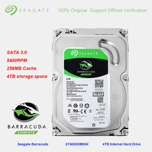 Seagate – disque dur interne de jeu de 3.5 pouces BarraCuda, 4 to, 256 mo de Cache, hdd de 3.0 rpm, SATA, 6 Gb/s