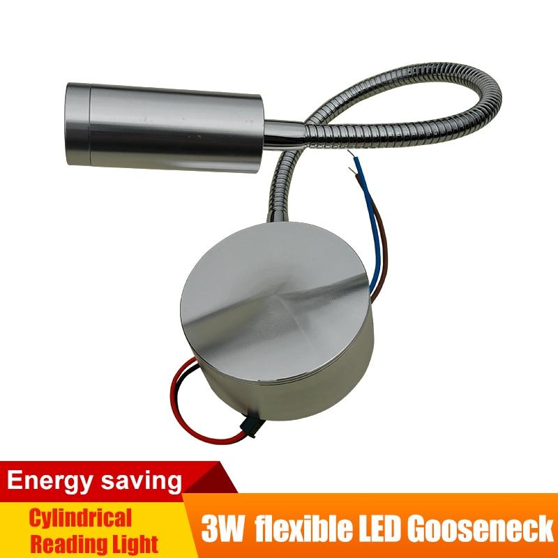 12V LED světlo pro čtení Hliníková podložka Flexibilní žaluzie Nástěnná svítidla Ložnice / Stůl / Schéma / Kniha Cool / Teplá Bílá RV Vedle osvětlení